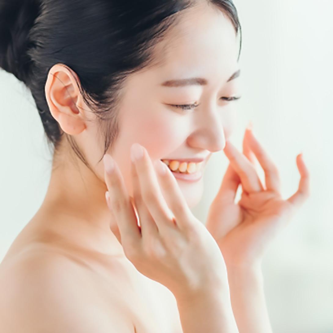 温泉水配合により、お肌の水分量がアップします